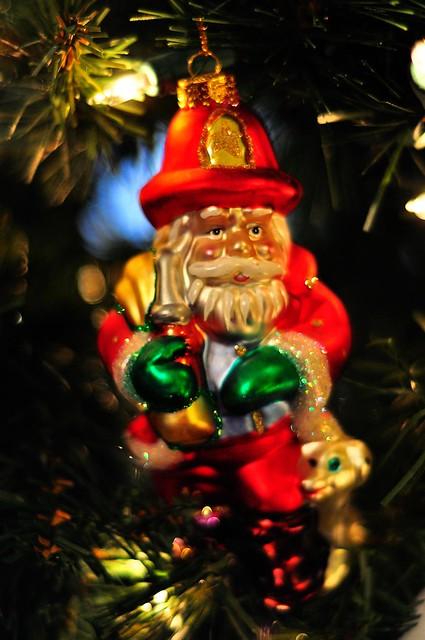 Fire Santa