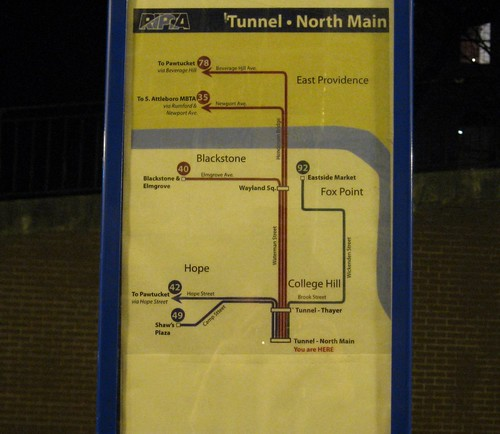 Bus Tunnel Map