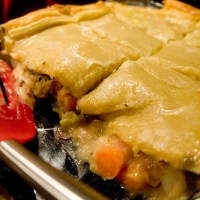 Beef Pot Pie with Puff Pastry Crust