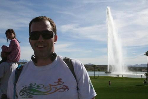 Adam + the fountain