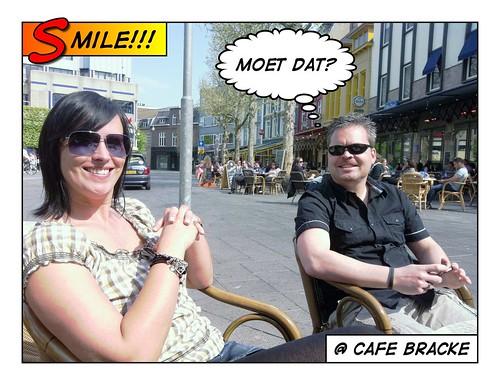 Gezellig op het terras met @jolandaloos en @Captain__Chaos...