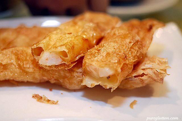 beancurd roll w cheese