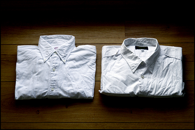 Two White Shirts from Supreme and Brooks Brothers 2