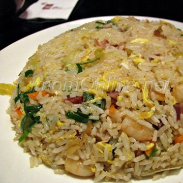 choi garden restaurant greenhills yangchow fried rice
