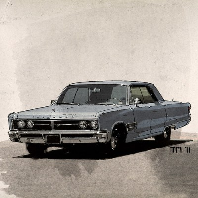 Artwork 1967 Chrysler New Yorker