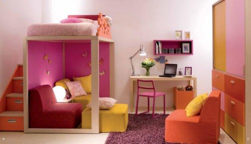 Ideas y Tips para la Decoracion de Dormitorios Infantiles