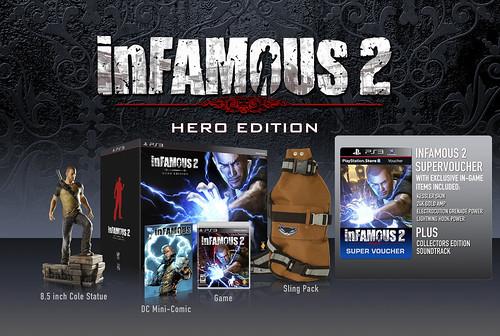 inFAMOUS 2 Hero Edition