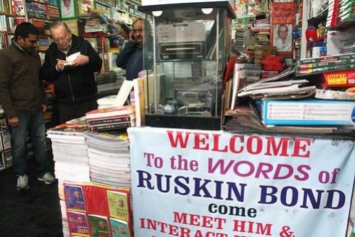 The Biographical Dictionary of Delhi – Ruskin Bond, b. Kasauli, 1934