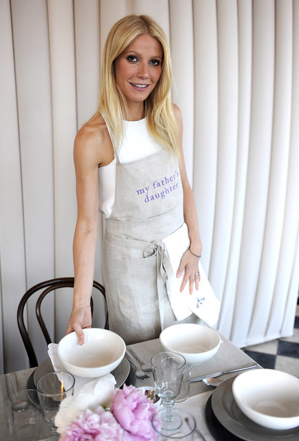 Dinner With Gwyneth Paltrow, Gwyneth Paltrow and One Kings Lane recently celebrated the launch of Paltrow's first cookbook,