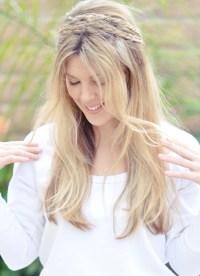Hair Tutorial | Messy Rope Braids with Low Bun or Long ...