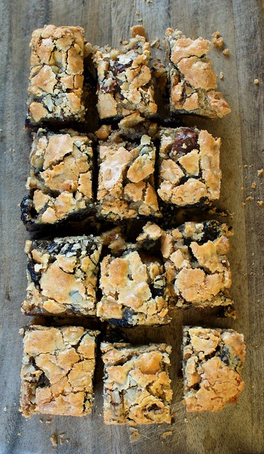 gluten-free date-walnut bars - Gluten Free Girl and the Chef