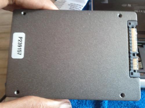 Kingston v100SD - back side