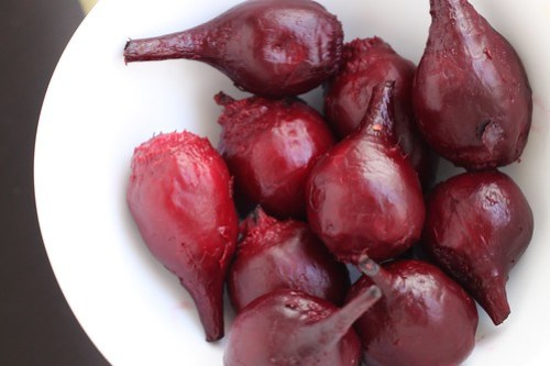 roasted red beets