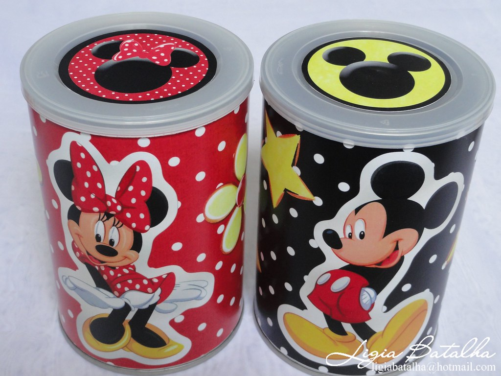 Latas De Galletas Decoradas The World S Best Photos Of Decoradas And Minnie Flickr Hive Mind