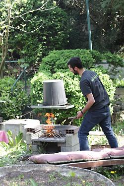 romain grilling