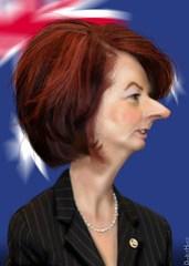 Julia Gillard - Caricature