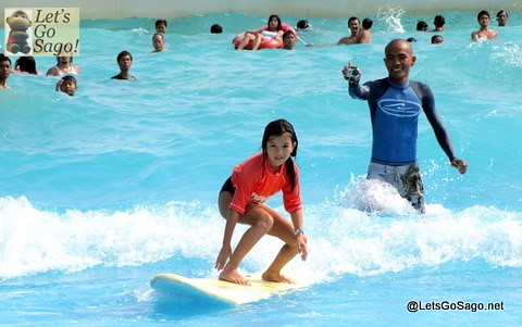 Kiddie Surfing