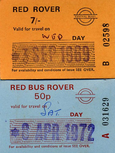 Red Rover ticket for the London bus All-day travel for next to - concert ticket maker