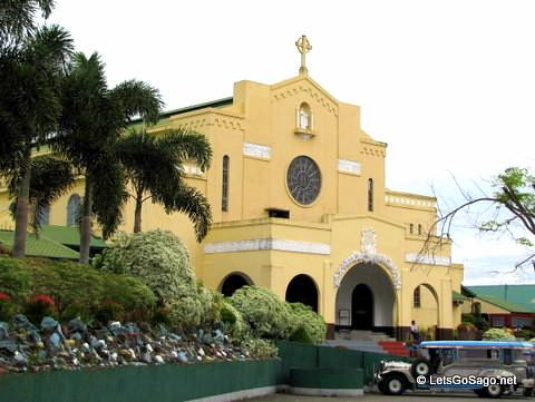 Mt. Carmel Church in Lipa City
