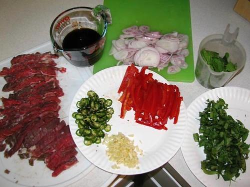 Spicy Thai Mint Beef