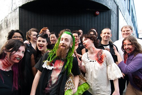 Zombie Wedding!
