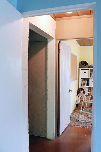 Hallway - Door to my office