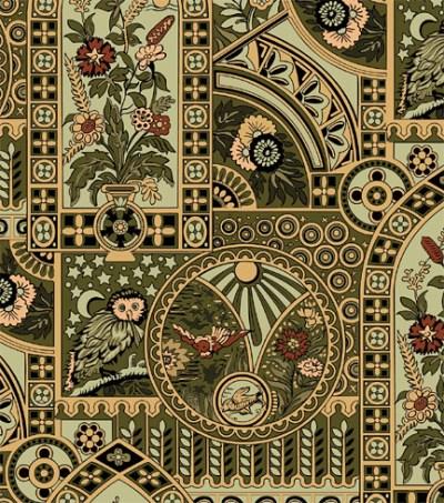 Eastlake Victorian: Bradbury & Bradbury and other Fine Wallpapers