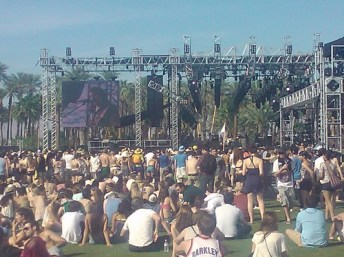 Coachella main stage 2011