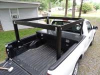 DIY Wood Bed Rack for Hauling Kayak/Canoe/Surfboards ...