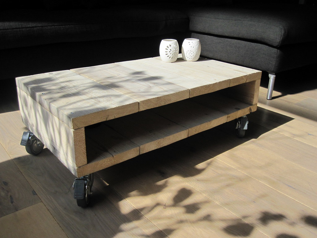 Steigerhout Tafel Op Wielen The World S Best Photos Of Recycledwood And Scaffolding