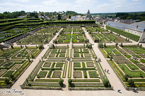 FRANCIA '09: Castillo de Villandry (Valle del Loira)