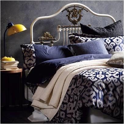 In the navy homestilo for Tracie ellis bedding