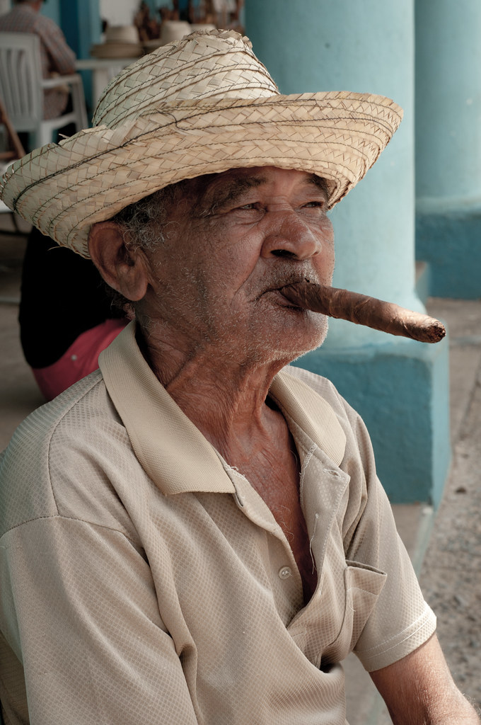 Cuban man in Vinales