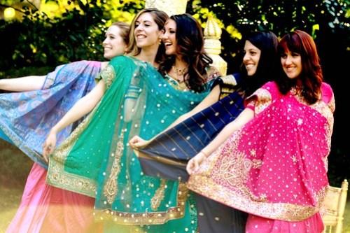 Unofficial bridesmaids!