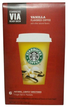 Starbucks VIA Ready Brew Vanilla Flavored Coffee