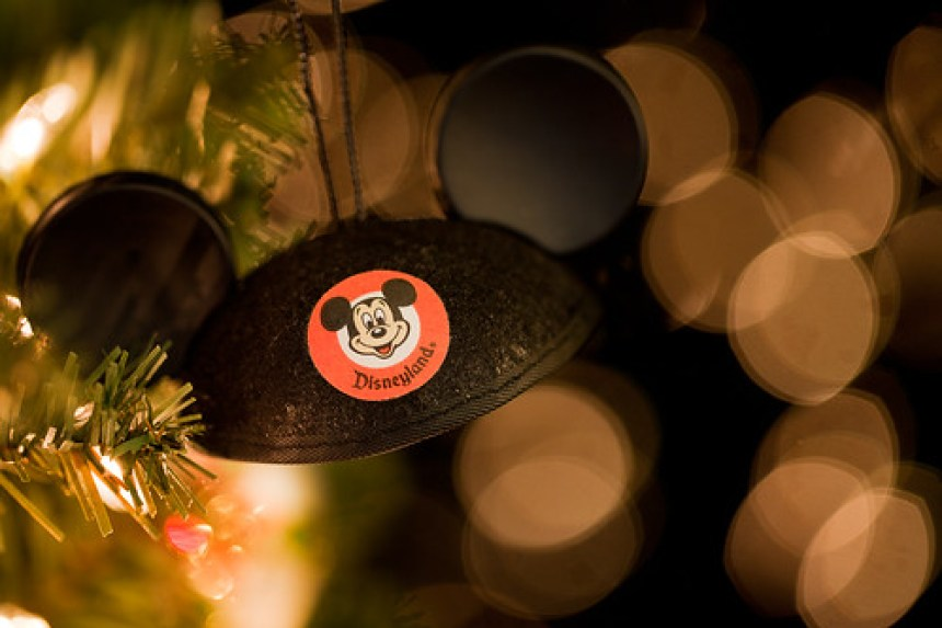 Happy Holidays Bokehlicious Mickey Ears