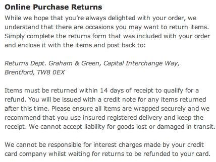 Why online retailers shouldn\u0027t charge for returns \u2013 Econsultancy