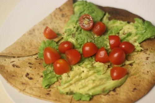 Healthy Veggie Tostadas