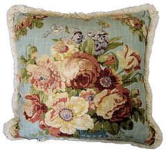 Hendel Floral Throw Pillow, Large
