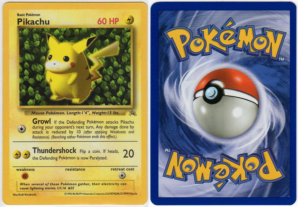 The World\u0027s Best Photos of pikachucard - Flickr Hive Mind