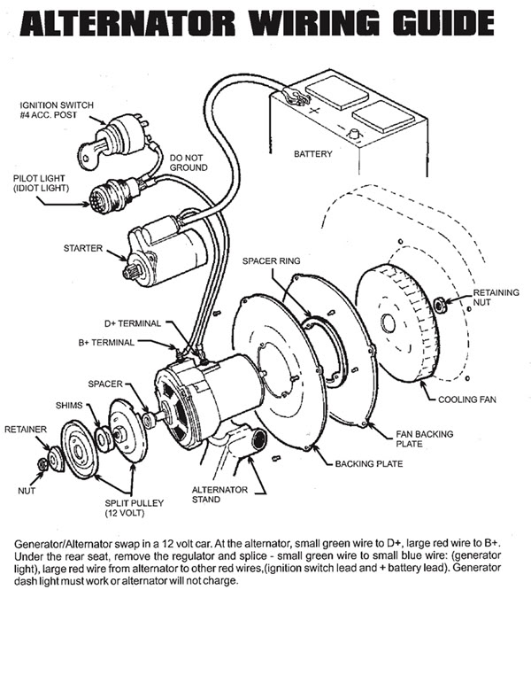 58 Vw Alternator Wiring Wiring Diagram