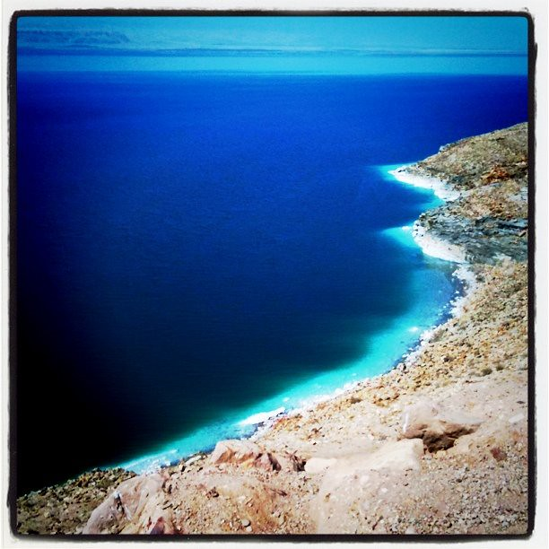 Instagram photo from the Dead Sea, Jordan