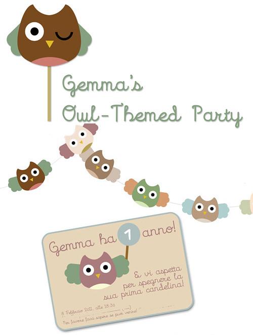 My Owl Barn Owl Themed Birthday Party + Free Printable
