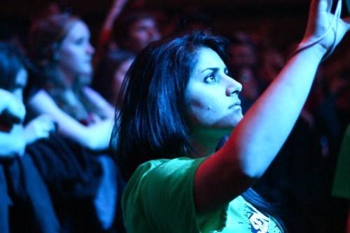 Sean Kingston Concert - Lining up