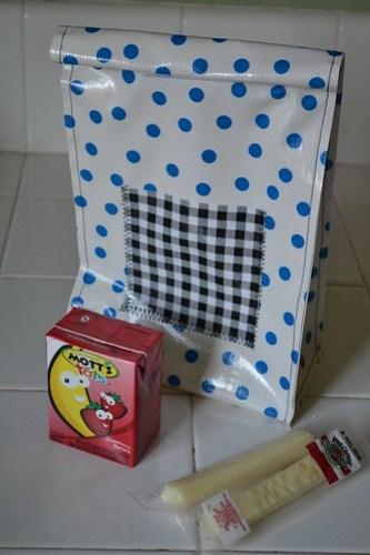 Vinyl Lunchbag