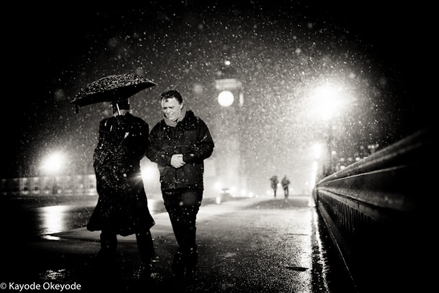 London When it Snows (Westminster)