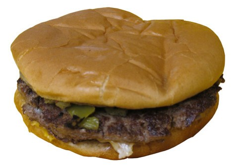 Whataburger Green Chile Double