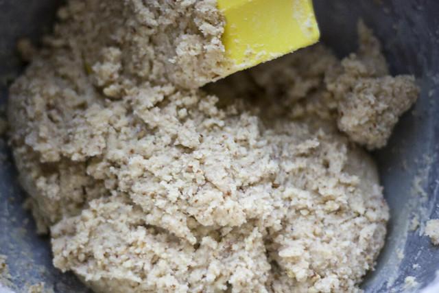 Pecan Linzer Cookie Dough