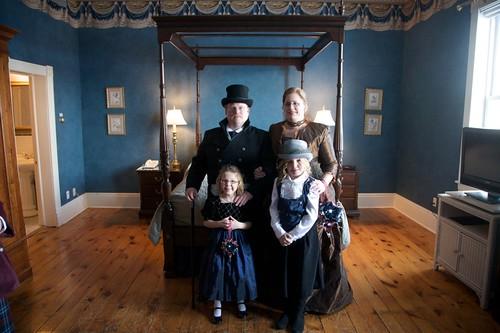 Rich, Kari, Paige and Teagan