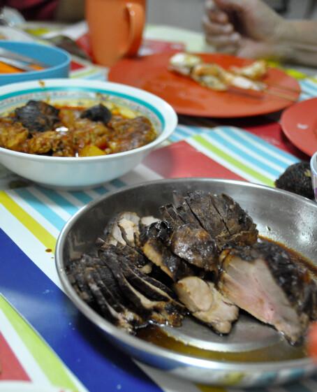 Chia family's reunion dinner